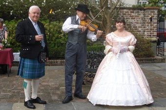 Wedding Violin in Savannah